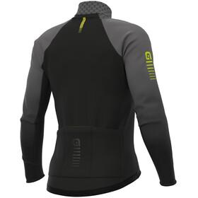Alé Cycling R-EV1 Velocity Wind G+ Maillot À Manches Longues Homme, charcoal grey/black